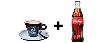 Espresso + Coca Cola 0,25l