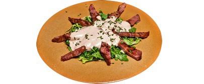 OBELIKS (obrok salata od dimljene junetine) 400g